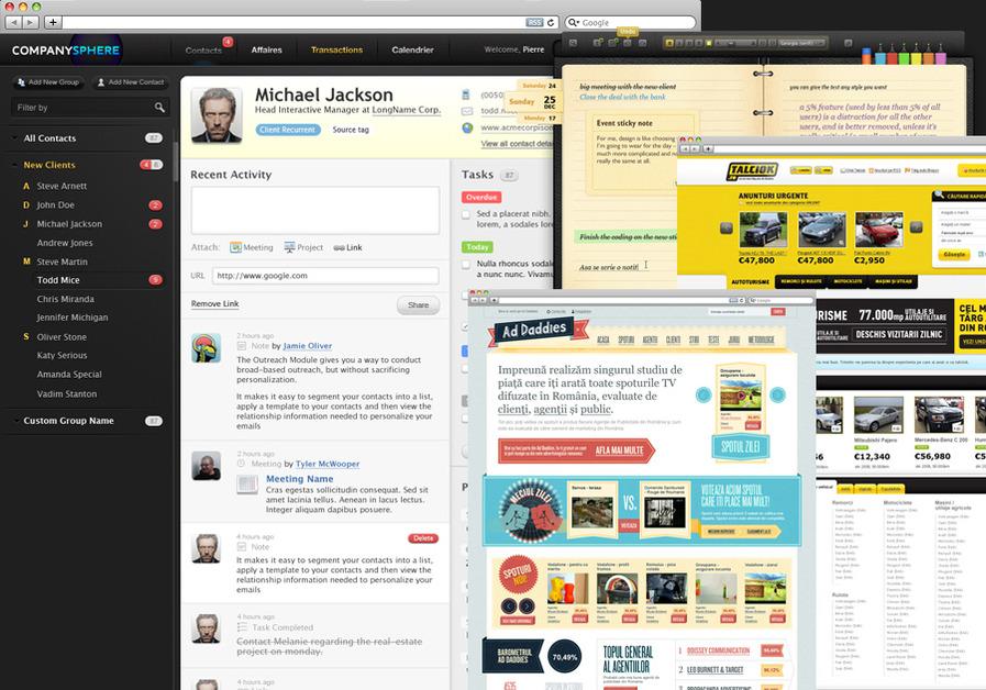 A great web design by SuperOkay, Cluj, Romania:
