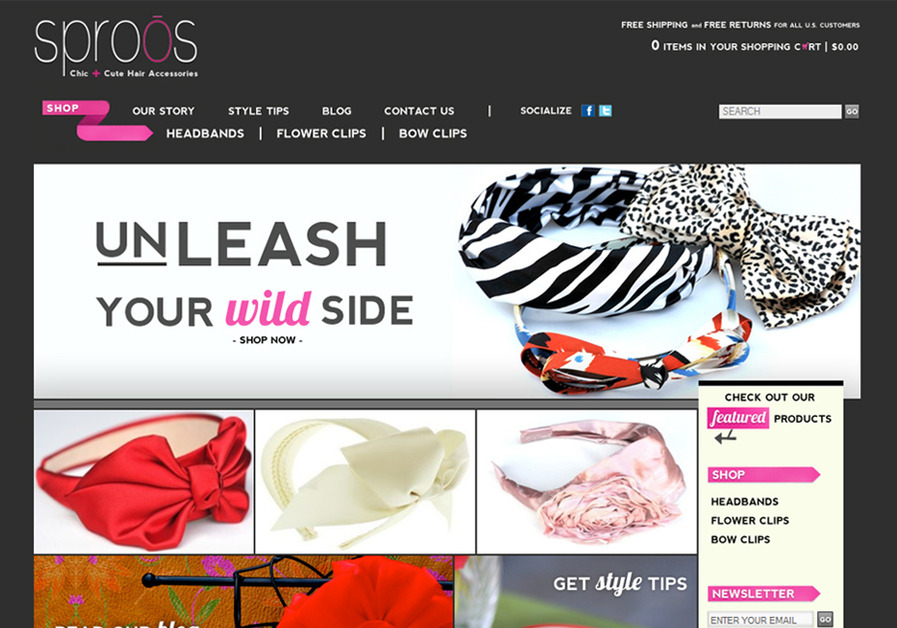 A great web design by Debut Designs, Charlotte, NC: