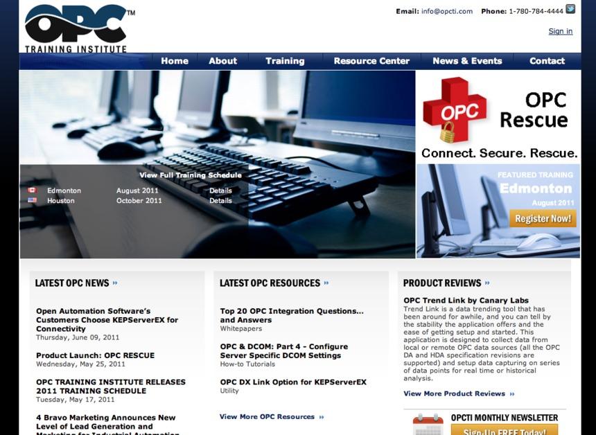 A great web design by Lean Sumo Creative, Edmonton, Canada: