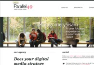 A great web design by Parallel 49, Toronto, Canada: