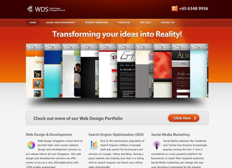 A great web design by Web Design Singapore Pte. Ltd., Singapore, Singapore: