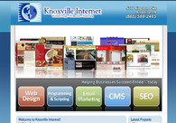 A great web design by Knoxville Internet, Knoxville, TN: