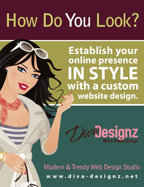 A great web design by Diva Designz Web Design Studio, Montgomery, AL: