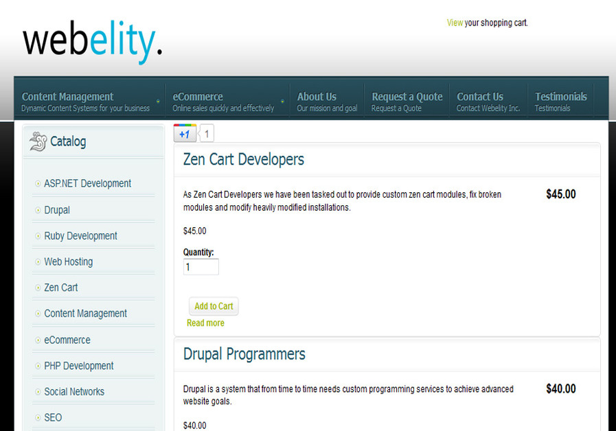A great web design by Drupal Developers, San Francisco, CA: