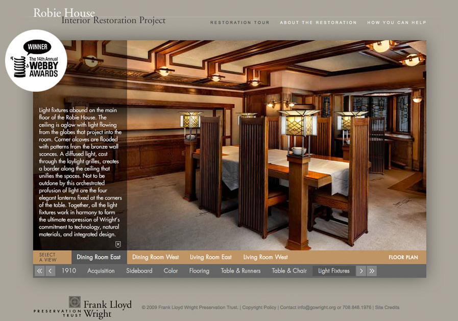 A great web design by James Eaton Design, Chicago, IL: