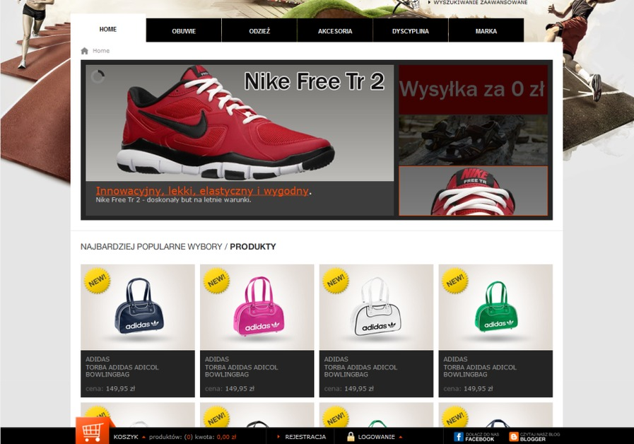 A great web design by Brainnovative, Krakow, Poland: