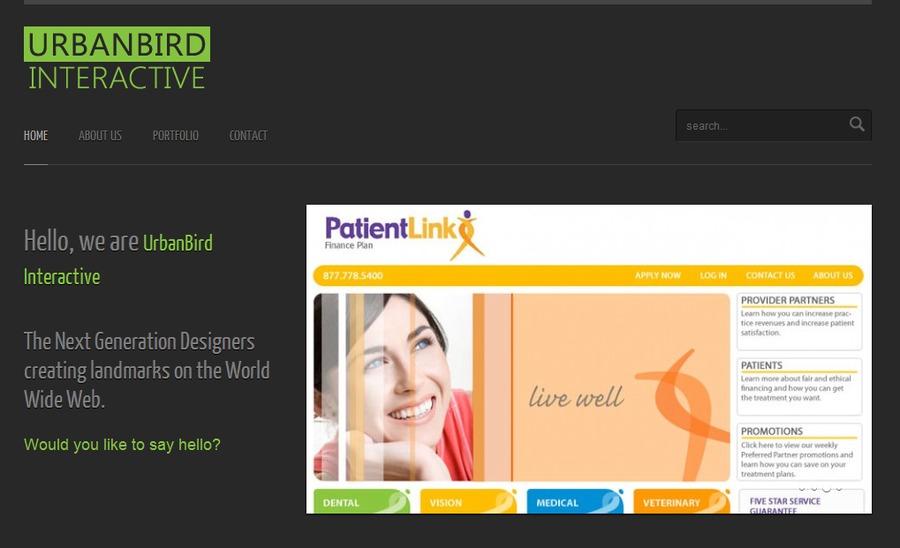 A great web design by Urbanbird Interactive, Hyderabad, India: