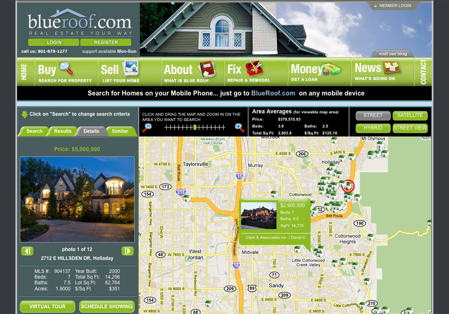A great web design by Phusion25.com, Salt Lake City, UT:
