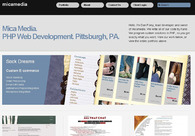 A great web design by micamedia, Pittsburgh, PA: