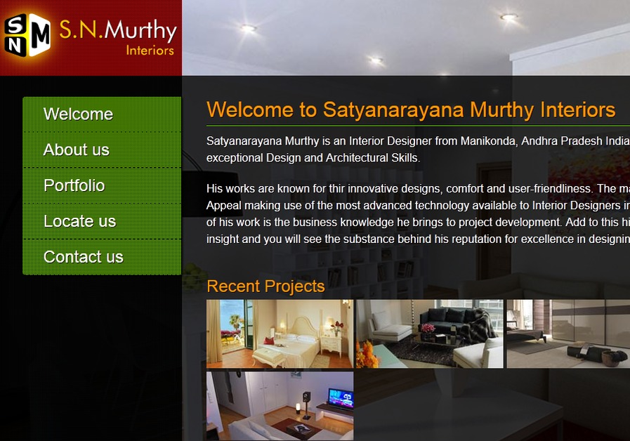 A great web design by Pro Semantic, Visakhapatnam, India: