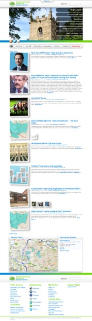 A great web design by Stephen Mulligan Website Design, London, United Kingdom: