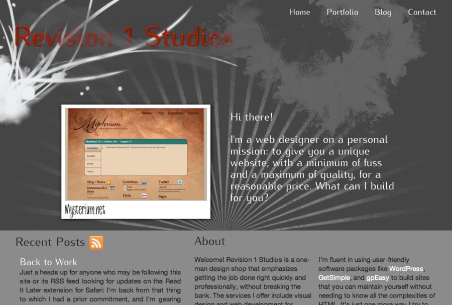 A great web design by Revision 1 Studios, Spokane, WA: