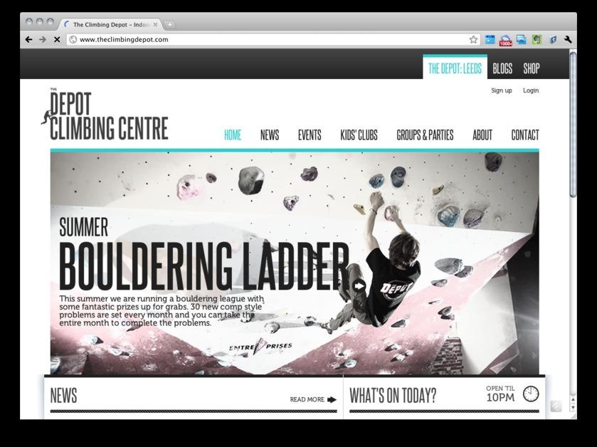 A great web design by Miicro, Edinburgh, United Kingdom: