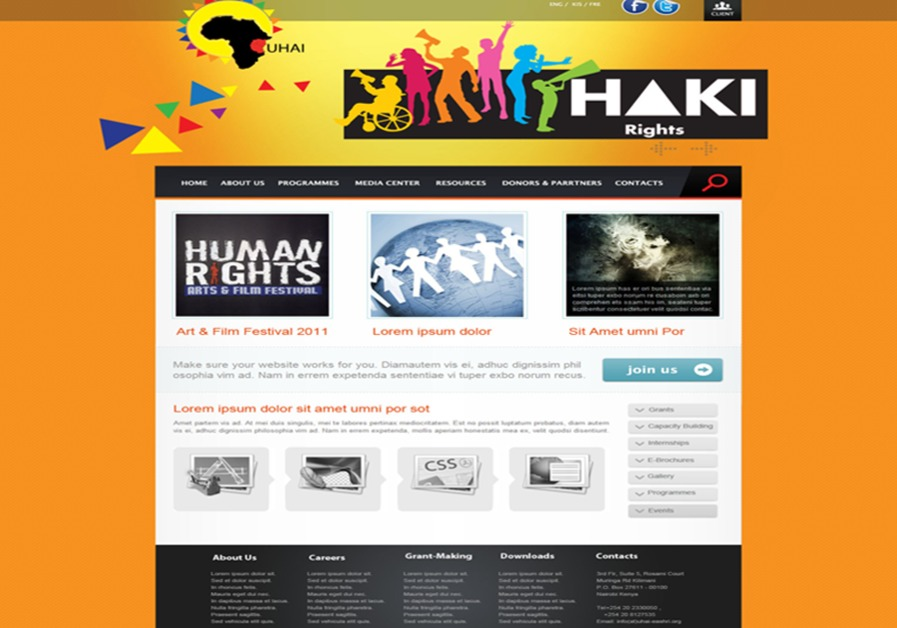 A great web design by Sprint-Interactive , Nairobi, Kenya: