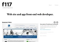 A great web design by Front117, Szczecin, Poland:
