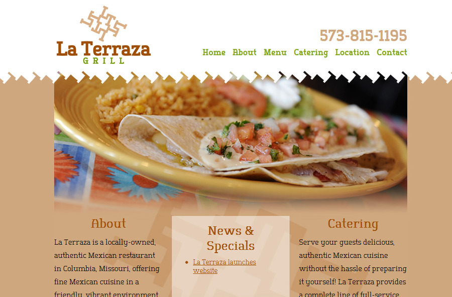 A great web design by Equal Creative, Jefferson City, MO: