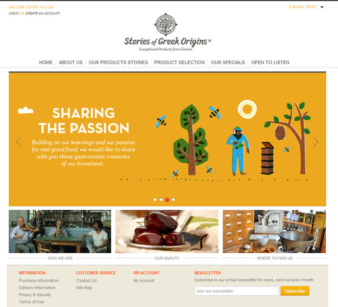 A great web design by w3 - Web Design & Online Marketing, Athens, Greece: Responsive Website, E-Commerce , Food & Beverage , Other