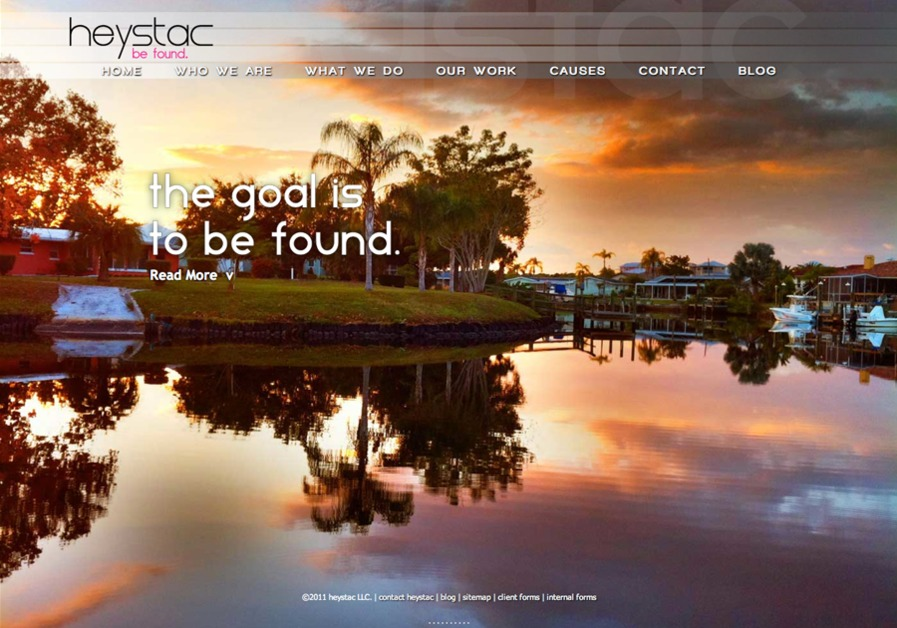 A great web design by heystac, Atlanta, GA: