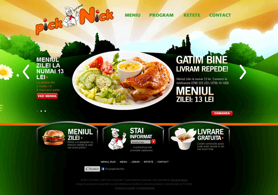 A great web design by SMM , Bucharest, Romania: