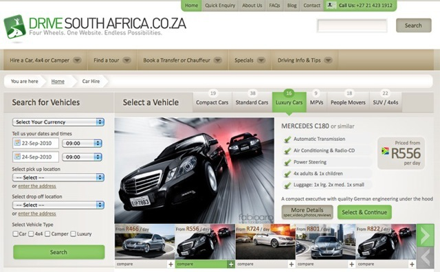 A great web design by Discover Africa Group, Cape Town, South Africa: Website, E-Commerce , Travel , ExpressionEngine