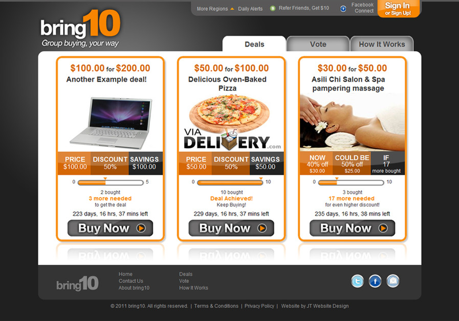 A great web design by JT Website Design, Inc., Orange County, CA: