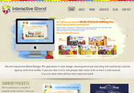 A great web design by Interactive Blend, New York, NY: