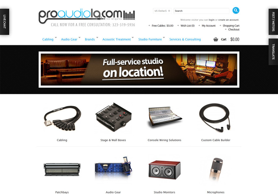 A great web design by Lewis Media Group, Chicago, IL: