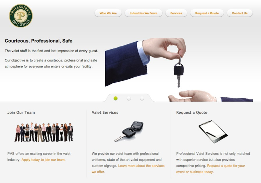 A great web design by Lansing iT, Lansing, MI: