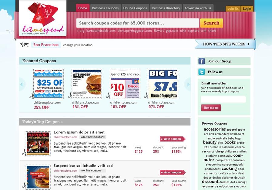 A great web design by UIrocks, Mumbai, India: