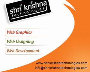 A great web design by Shri Krishna Technologies, Nagpur, India: