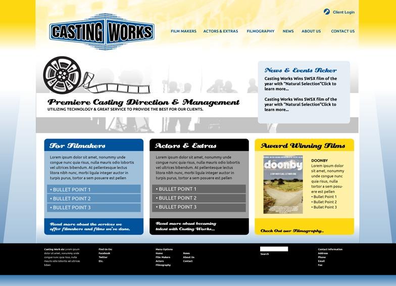 A great web design by A Girl Creative Design Studio, Austin, TX: