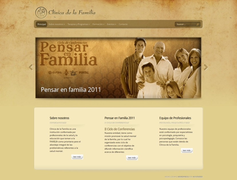 A great web design by 451studio, Cordoba, Argentina: