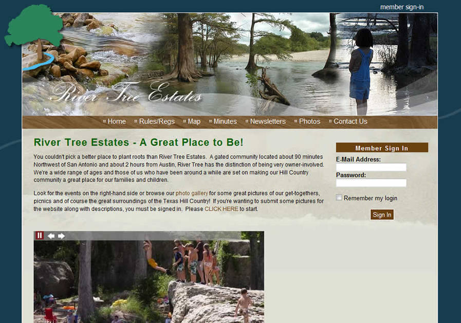 A great web design by Compass Point Media, Austin, TX: