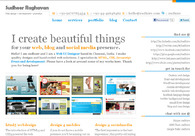 A great web design by Sudheer Raghavan, Chennai, India: