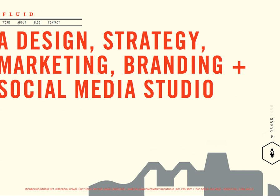 A great web design by Fluid Studio, Salt Lake City, UT: