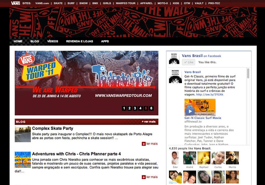 A great web design by Richard Garcia, Sao Paulo, Brazil: