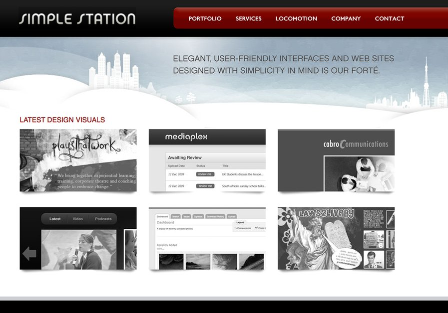 A great web design by Simple Station, Boston, MA: