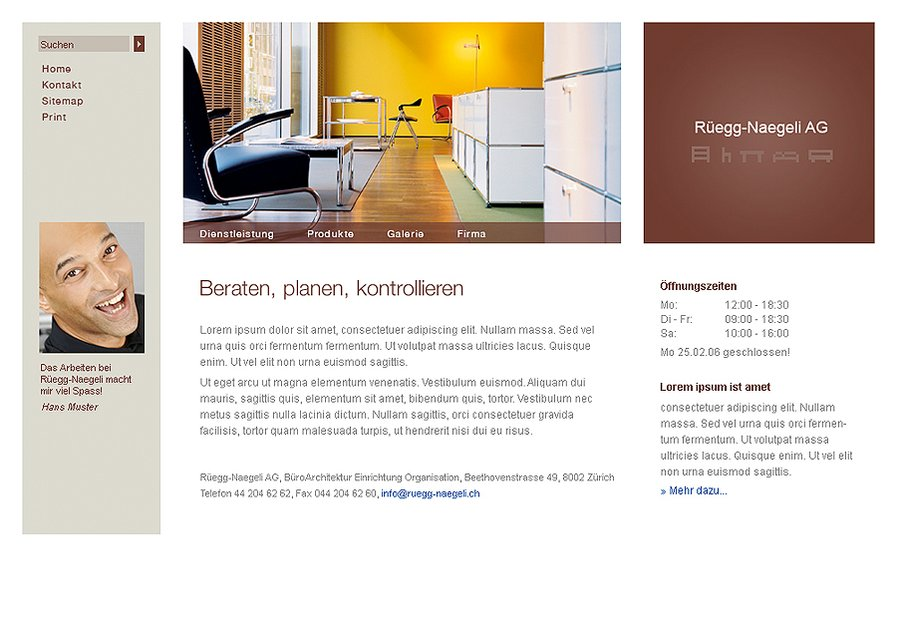 A great web design by 2nddesign.net, Baar, Switzerland: