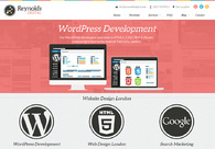A great web design by Reynolds Digital, London, United Kingdom: Responsive Website, Marketing Website , Marketing , Wordpress