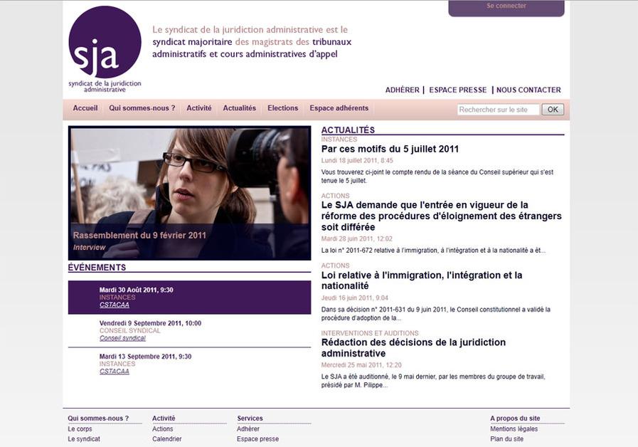 A great web design by oeilgauche, Paris, France: