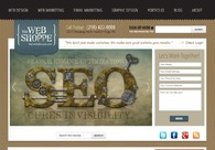 A great web design by The Web Shoppe, Fargo, ND: