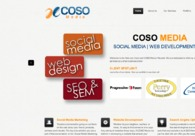 A great web design by COSO Media, Cleveland, OH: