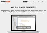 A great web design by /rudecode, Dortmund, Germany: