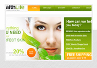 A great web design by IT Vision Services, Seattle, WA:
