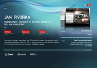 A great web design by Webdesigner Pivonka, Prague, Czech Republic: