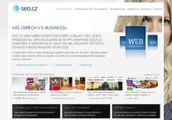 A great web design by SEO.CZ, Prague, Czech Republic: