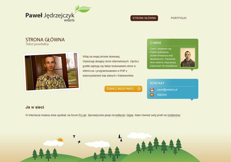 A great web design by Webarto.pl - Paweł Jędrzejczyk, Gdansk, Poland: