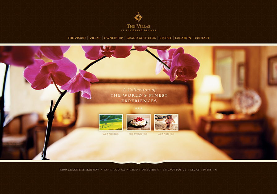 A great web design by Seen+Noted, Hand-Crafted Design, San Diego, CA: