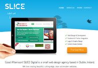 A great web design by SLICE Digital, Dublin, Ireland:
