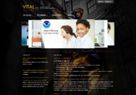 A great web design by VITAL BGS, Los Angeles, CA: